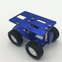 JMT Mini Intelligent CNC Alloy Car Chassis RC Tank Car Truck Robot Toy