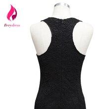 Sexy Women Robe De Soiree Bodycon Short Black Audrey Hepburn Lace Summer Dress