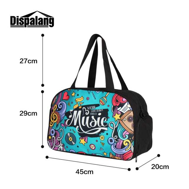 placeholder Dispalang Best Cotton Luggage Duffel Bags Patterns Floral  travel handbags online Stylish Custom Shoulder travel accessories 923cd2499c43b