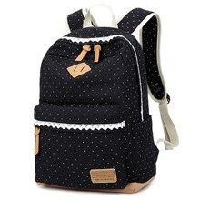 Новый печати холст рюкзак женские школьные сумки для девочек-подростков женская сумка для ноутбука рюкзак Bagpack Ladies Mochila