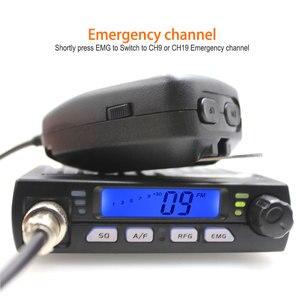 Image 4 - Ultra Compact AM FM Mini Mobie CB Radio 25.615  30.105MHz 10M Amateur Car radio Station CB 40M  Citizen Band Radio AR 925