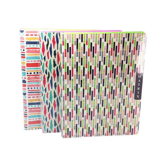 Victoria\u0027s Journals Taylor Matrix Soft Cover Notebook Ruled Neon