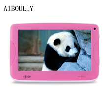 AIBOULLY Original 7 inch Kids Tablet Android 6.0 1GB RAM Quad Core 6.0 OS WiFi Tab for Kids OTG Stylus pen Cute case Safe 7 8''