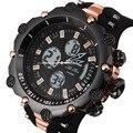 Мужские часы Топ люксовый бренд водонепроницаемые Дата Часы мужские резиновые повседневные Кварцевые Спортивные Наручные Часы Relogio Masculino