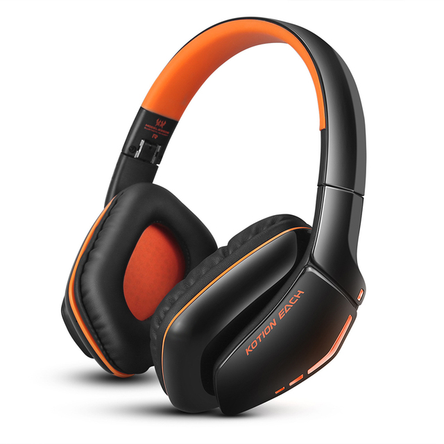 Each b3506 bluetooth 4.1 over-ear dobrável gaming headset sem fio bluetooth fone de ouvido com microfone 3.5mm cabo para ps4 pc