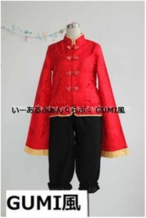 Vocaloid 1 2 fan CLUB Megpoid Gumi kostium cosplayowy anime wykonany na zamówienie motyw pandy Uniform