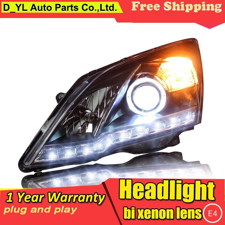 Car Styling Headlights for Honda C RV 2007 2011 LED Headlight for CRV Head Lamp LED