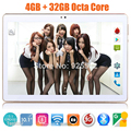 Envío Libre de DHL Android 5.1 OS 10 pulgadas tablet pc Octa Core 4 GB RAM 32 GB ROM 8 Núcleos 1280*800 MID Tablets IPS Embroma el Regalo 10 10.1