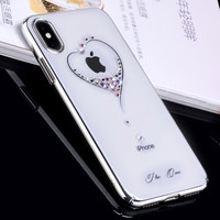 KINGXBAR Cover For IPhone 7 Plus Cover Phone Bag Diamond Decorated Hard Case For IPhone7 Plus
