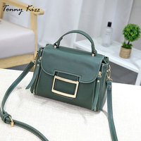 Tonny Kizz leather vintage crossbody bags for women shoulder bag high quality ladies hand messenger bags large capacity daily