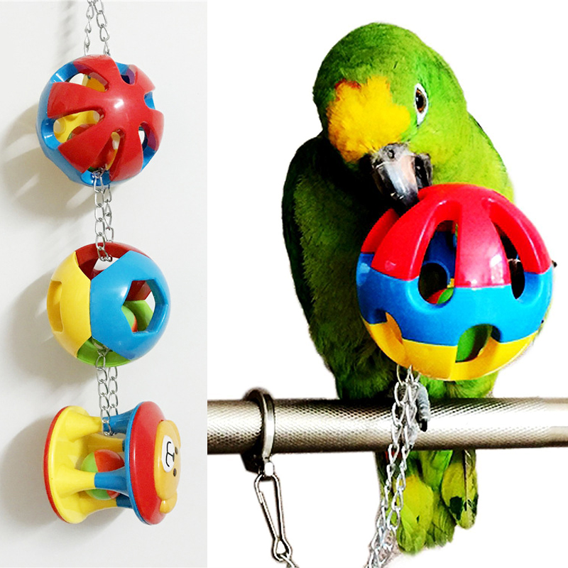 Birds LOVE Strawbucks Bird Toy for Small Parrots for Pulling Hanging Chewing Paper /& Plastic