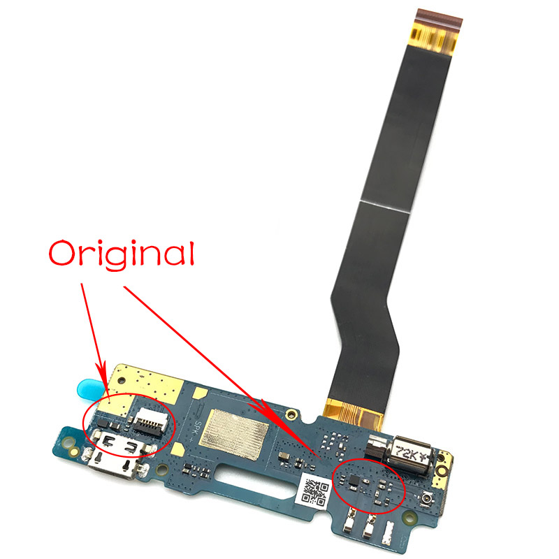 New For Asus Zenfone 3 MAX ZC520TL Charging Dock Port Micro USB Charger Connector Plug Board Flex Ribbon Cable title=