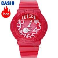 Часы Casio BABY G Женские кварцевые спортивные часы модные тенденции неоновые огни двойной дисплей водонепроницаемый baby g Часы BGA 130