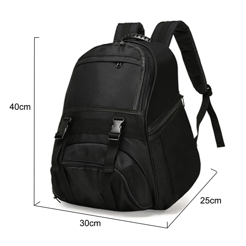 Football Basketball Backpack Academy Gym Fitness Bag for Shoes Mesh Storage  Rucksack Waterproof Oxford Training Bag Male XA270WD-in Gym Bags from  Sports ... b4017c3672393