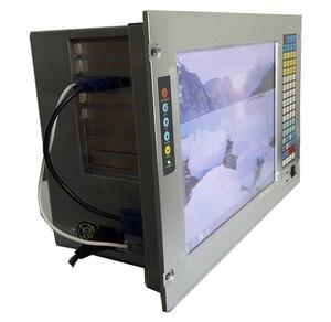 """Image 3 - 19 """"7U מתלה הר תעשייתי מחשב, 15"""" LCD, עם מסך מגע, Core P7550 מעבד, GM45 שבבים, 4 GB זיכרון RAM, 500 GB HDD"""
