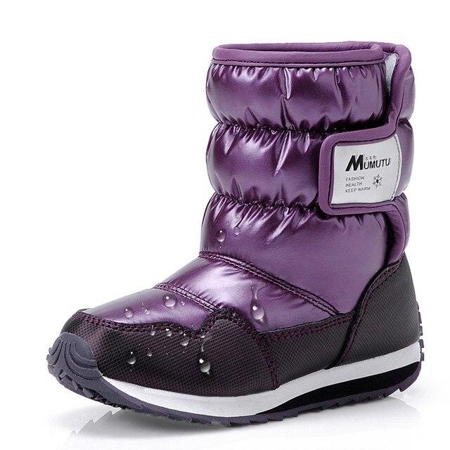 Best Winter Children Shoes Snow Boots Parent child Winter Boots ...