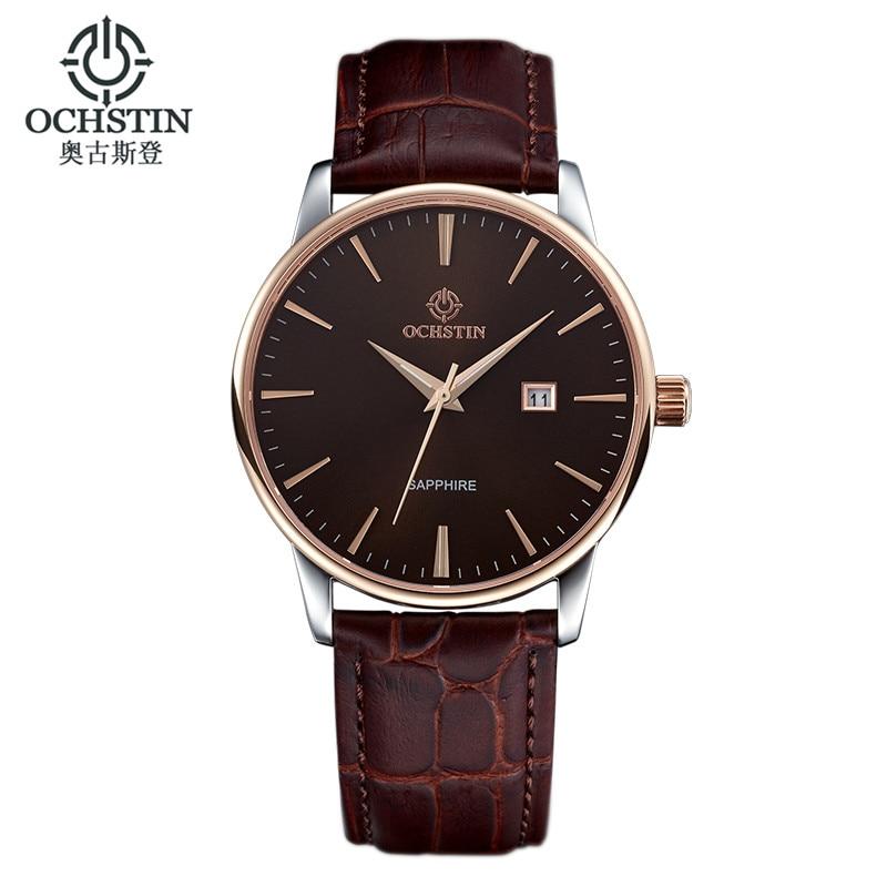 2016 Ochstin Ladies Wrist Watch Men Top Brand Luxury Famous Male Clock Quartz Women Wristwatch Quartz-watch Relogio Masculino