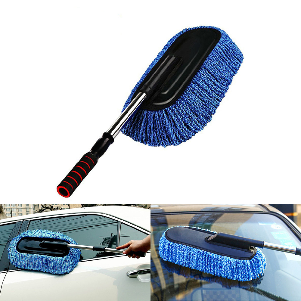 Microfibre Soft  Dust Cleaning Brush Auto Wash Car Duster