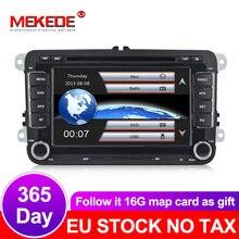 2din GPS Per Auto di navigazione radio stereo per VW/Volkswagen/Golf/Polo/Tiguan/Passat/b7/b6/SEAT/leon auto lettore dvd