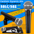 Бесплатная Доставка Качество SM 58 58LC SM58LC Clear Sound Пульт проводной Динамический Микрофон Караоке Майк Для SM58S 58 S SM58SK 58SK Mic