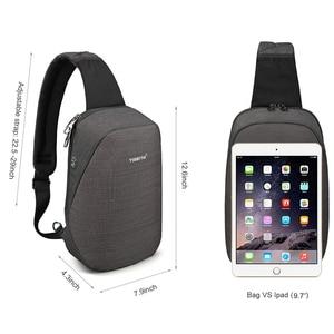 "Image 5 - Tigernu Anti theft Crossbody Bag Casual Men Chest Bag Waterproof  Male Sling Bag Messenger Bag Fit 9.7"" IPad for Teenager"