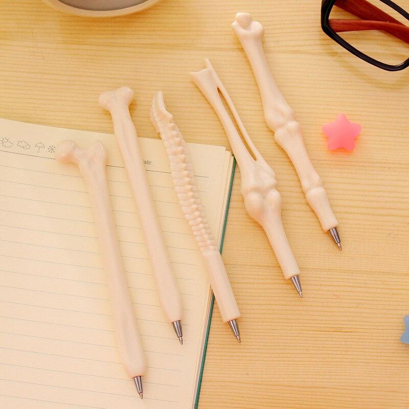 Creative Novelty Stationery Selling Korean Students Head Other Prizes Vivid Bone modeling ballpoint pen student prize gift pen