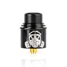 Apocalypse GEN 2 RDA Atomizer 24mm rebuildable Tank with BF PIN for 510 Electronic Cigarette Mod Ni80 Prebuilt Coil Clapton coil
