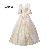 Top Sale Renaissance Georgian Period Masquerade Princess Costumes Masquerade Ball Gown Rococo Cosplay Clothing