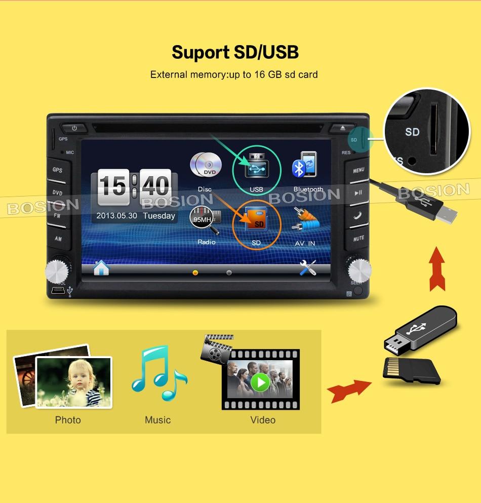 GPS din Speler Multimedia 16