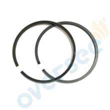 351-00011-0 Piston Ring STD 55mm SET for Tohatsu Nissan 15HP 9.9HP M NS9.9 15 Outboard engine boat motor aftermarket part