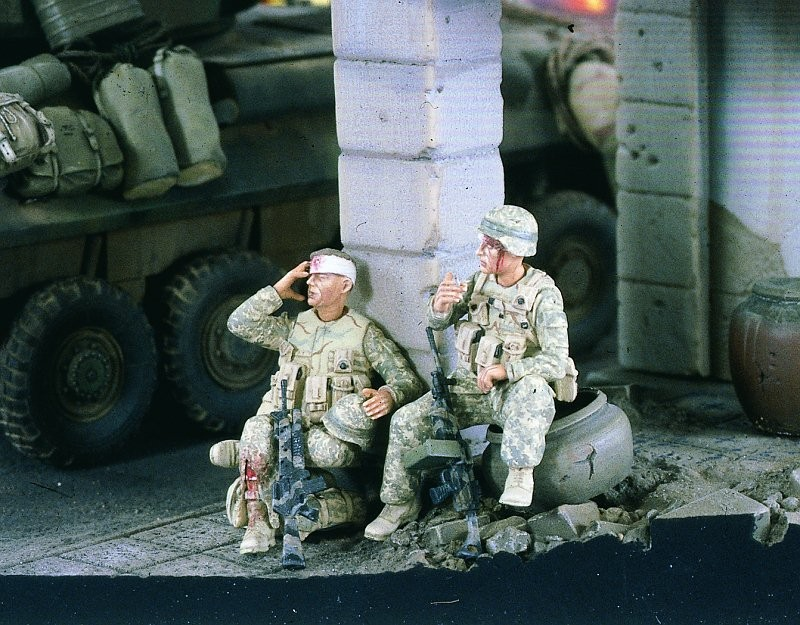 1:35  Wounded Marines Iraq