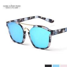 Бесплатная доставка Модные Ретро кошачий глаз солнцезащитные очки Женские винтажные Брендовая Дизайнерская обувь очки зеркальные линзы для дам RST005
