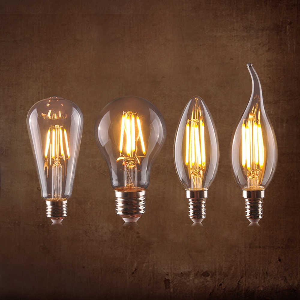 Retro Design LED Bulbs 220V E14 E27 Edison LED Lamp Candle Light Bulb Vintage Home Decorative Edison Lamp LED Light