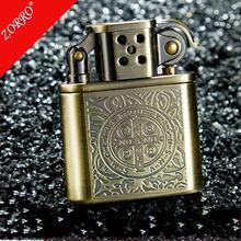 Constantine ZORRO Copper Cigarette Lighter Gasoline Vintage Kerosene For Gas Grinding Wheels Fire