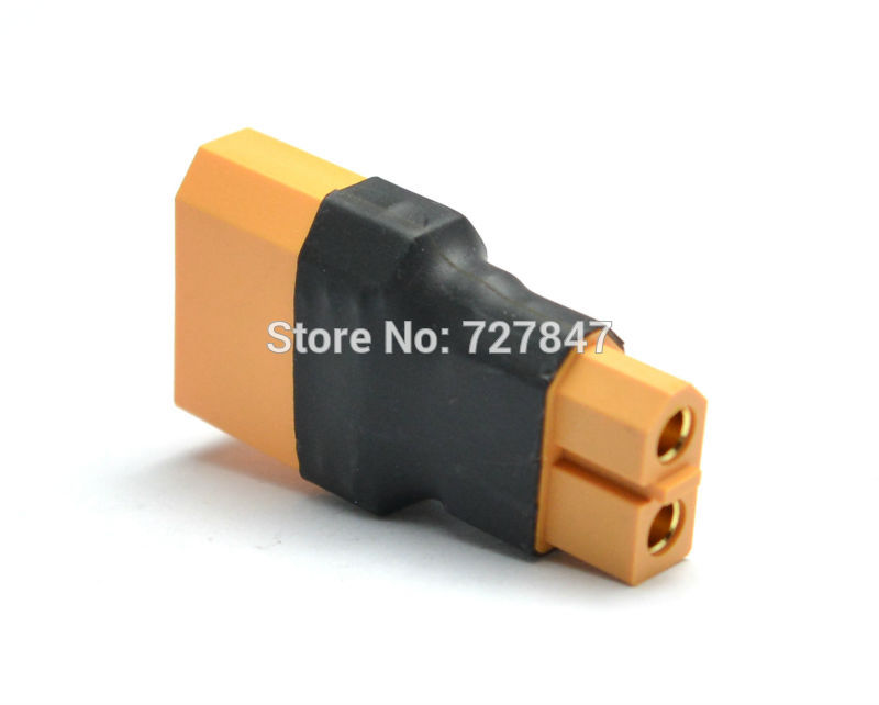 XT60 Female Convert to XT90 Male Connector Conversion Adapter Wireless Car Heli