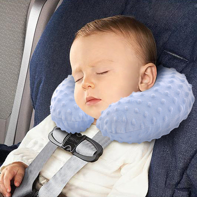 Baby Car Seat Head Supprot Neck Protection KidsTravel U Style Pillow Cushion