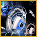 Sades A8 Profesional Auriculares de Juegos de Ordenador USB 7.1 Surround Sound Gaming Auriculares Vibración Breathing LED Light Auriculares