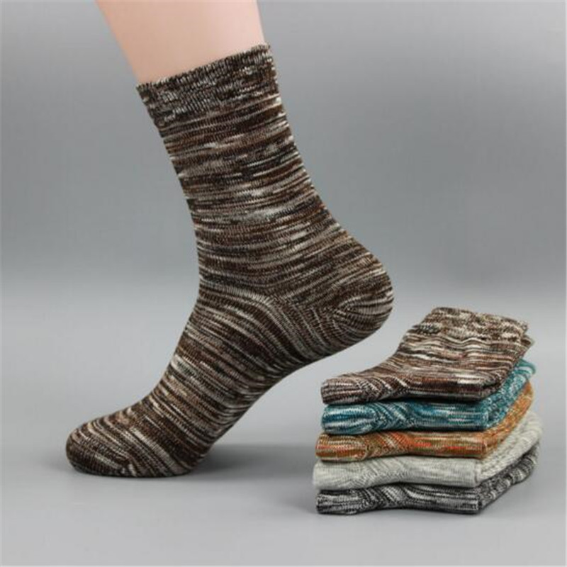 Brand New Style Comfortable Cotton Men Sock Autumn Winter Casual Socks Male High Quality Mens Accessory Gifts