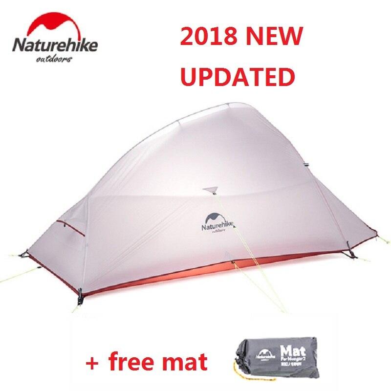 Naturehike 2018 Nouveau Nuage Up 2 Version Mise À Jour En Plein Air 2 Personne Ultraléger Camping Tente Debout Libre