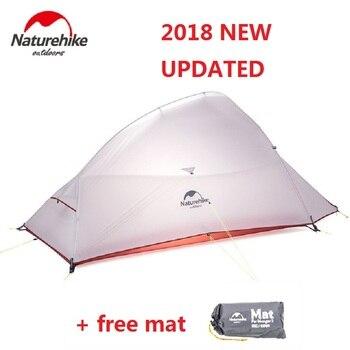 Naturehike في 2018 الجديدة سحابة تصل 2 نسخة محدثة outdoor 2 شخص التخييم خيمة خفيفة بذاتها