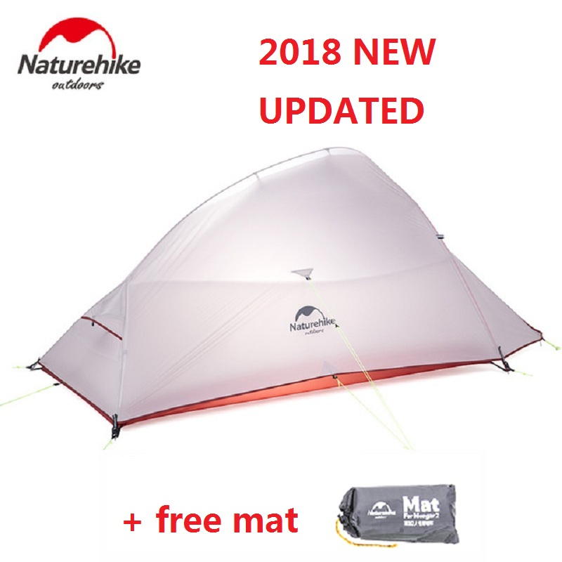 Naturehike 2018 New Cloud Up 2 Updated Version Outdoor 2 Person Ultralight Camping Tent Free Standing