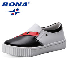 Bona/новая дизайнерская модная детская повседневная обувь; мягкие