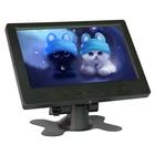 7 inch 1024x600 LCD monitor HDMI HD AV VGA input screen computer monitor Car Backup Reverse With AV/BNC/VGA/HDMI/USB Speakers
