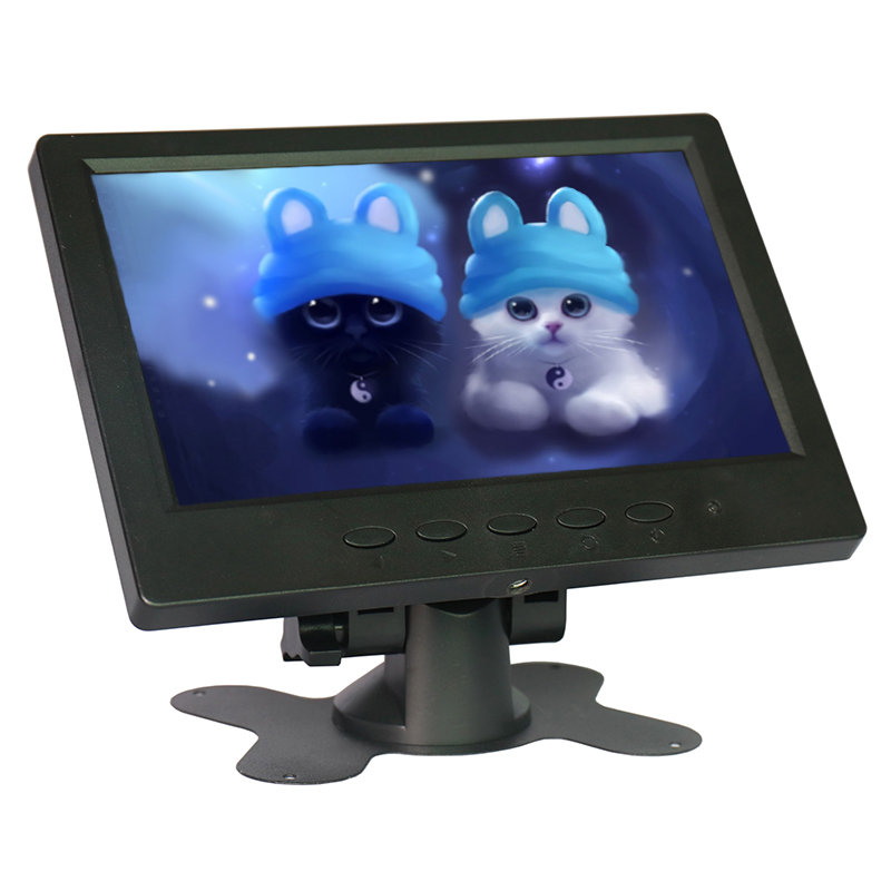 7 inch 1024x600 industrial LCD monitor HDMI HD AV VGA input screen computer monitor Car Backup Reverse With AV/BNC/VGA/HDMI/USB 10 1 inch 4 3 lcd hd digital screen car monitor 2 video inputs av input stand alone monitor with vga hdmi av usb bnc tv sh10198