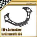 Car Styling For Nissan GTR R35 Carbon Fiber Steering Wheel Switch Panel (LHD)