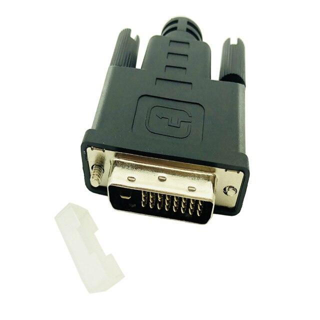 DVI Dummy Plug Connector Virtual Display Headless Ghost Display Emulator Fit Headless 2560 x 1600 @60hz Display DVI Plug Adapter