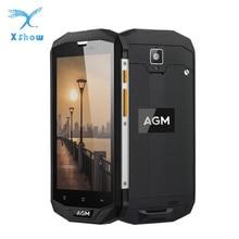 """Orijinal AGM A8 AB 4 GB RAM 64 GB ROM 5.0 """"HD Darbeye Dayanıklı Su Geçirmez Telefon IP68 Qualcomm MSM8916 Dört çekirdek 13.0MP 4050 mAh NFC OTG"""