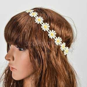 Top 10 white flower hair wreath phenovo white flower head wreath hair band crown decor mightylinksfo