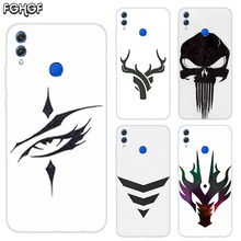Soft TPU Print Hull Case For Huawei Honor V20 8X 7 8 9 10 lite 7X 8A V9 Play Frosted Fundas Cover Sketches