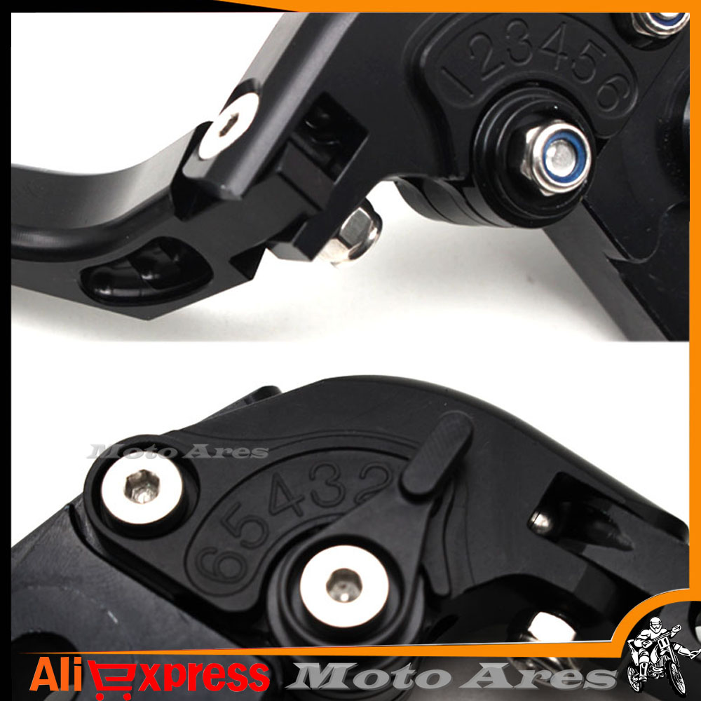 Logo Fz1 For Yamaha Fazer 2001 2002 2003 2004 2005 Adjustable Wiring Diagram Folding Extendable Black Cnc Motorcycle Brake Clutch Levers In Covers Ornamental
